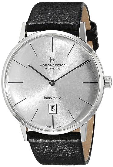 Hamilton H38755751 - Reloj de pulsera hombre, color Negro: Amazon.es: Relojes