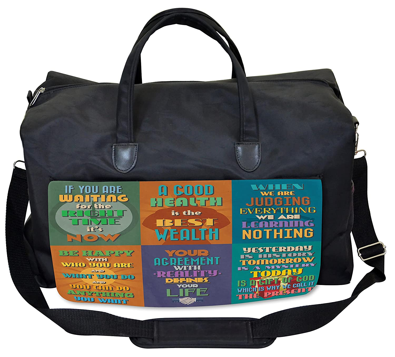 aff042d3ff Amazon.com  Lunarable Quote Gym Bag