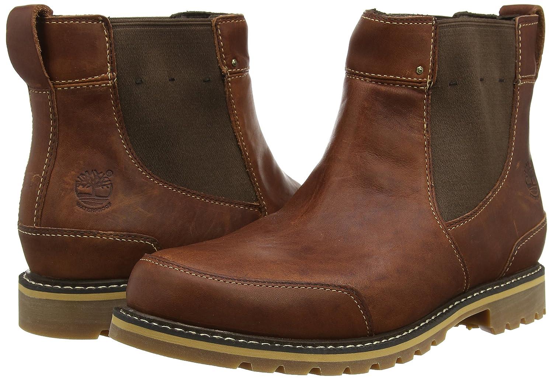 Timberland Mens EK Chestnut Ridge FTMChestnut Ridge Chelsea WP Cold Lined Chelsea  Boots Short Length Brown 65 UK Amazoncouk Shoes  Bags