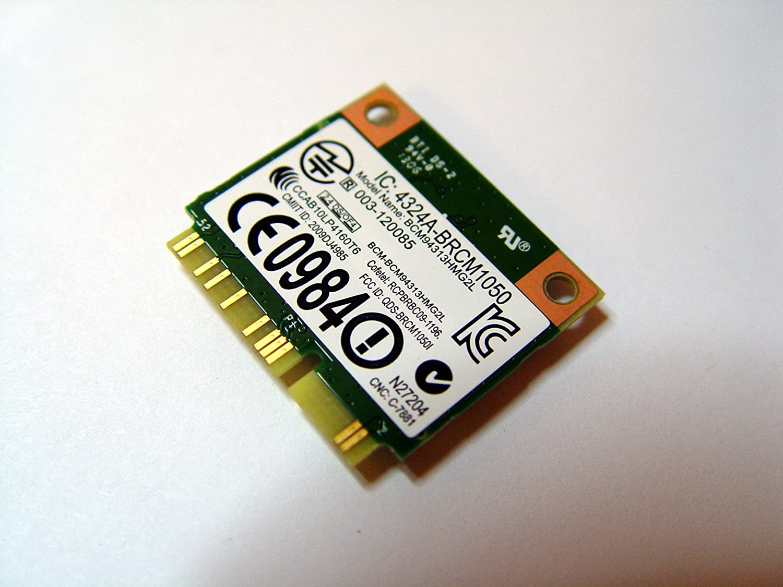 Broadcom Wireless 802 11/a/g/n Internet WLAN Adapter Card for Laptops &  Netbooks