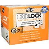 GoGo Pet Products Gridlocks Puppy Pads, X-Large, 40 Pieces