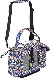 O2TOTES Lightweight Carrier for Oxygo or Inogen One G3 Oxygen Concentrator, Portable Oxygen Bag with Adjustable Strap, Floral