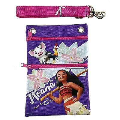 Disney Moana Mini Purse/Lanyard/Wallet/Camera Bag - Purple: Toys & Games