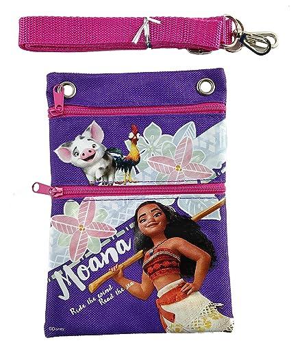 Amazon.com: Disney Moana cartera Mini/cordón/Monedero/Bolsa ...