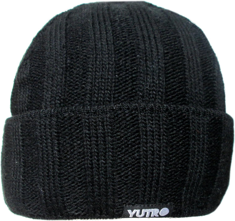 YUTRO Fashion Stylish Classic or Slouchy Wool Knit Winter Beanie Hat