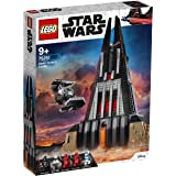 LEGO 75251 Star Wars Darth Vader's Castle Playset, TIE Fighter Toy and 5 Minifigures (Exclusive to Amazon & LEGO)
