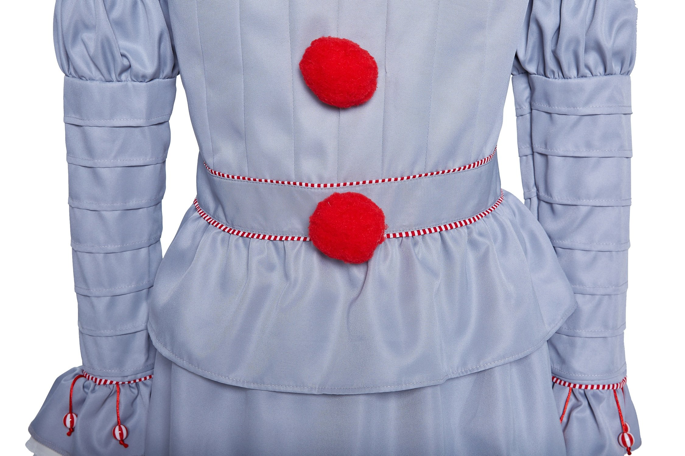 Women's Halloween Clown Cosplay Costumes Pennywise Costplay Outfit, M by Quintion Anneao (Image #3)