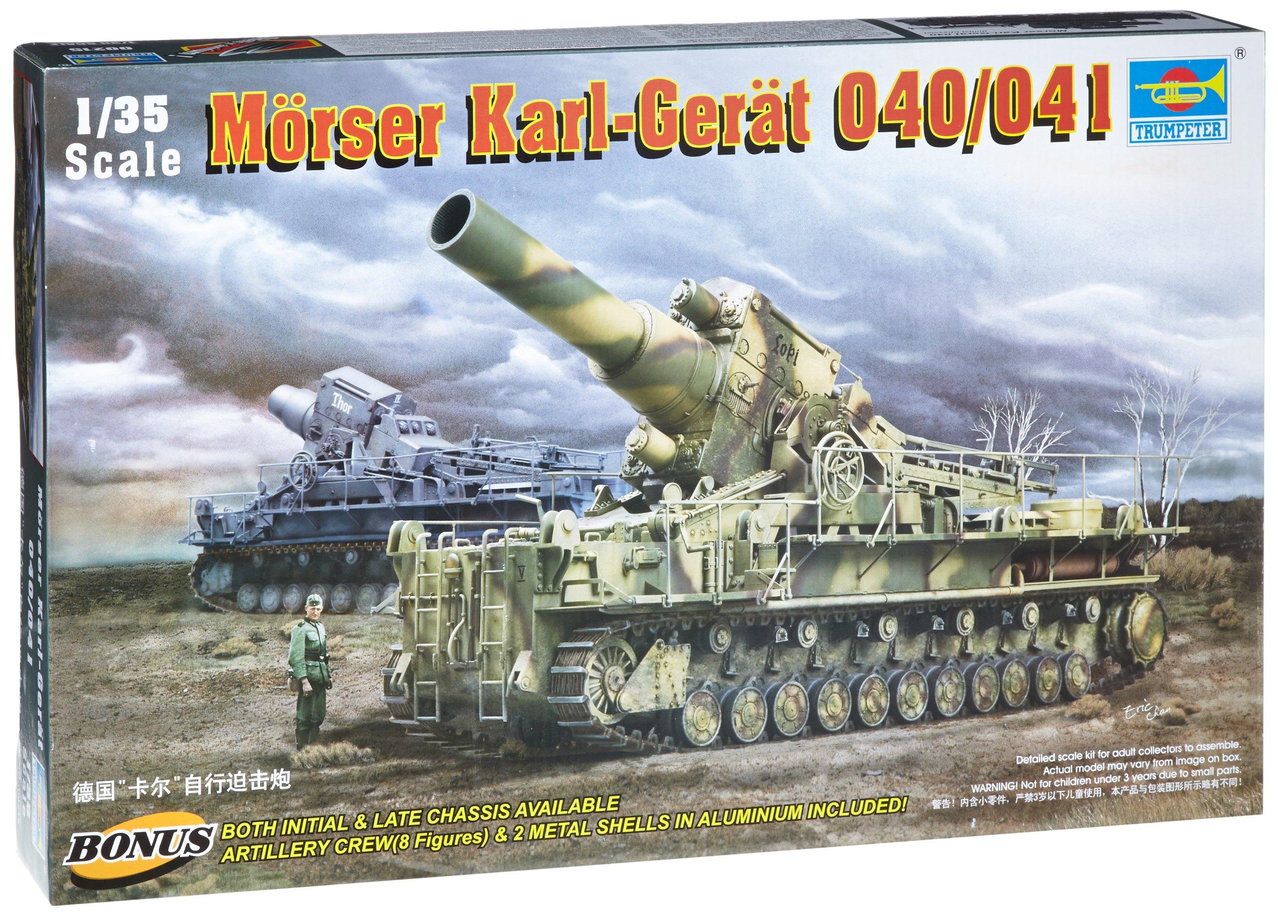 Trumpeter 1/35 Morser Karl Great 040/041 German Gun
