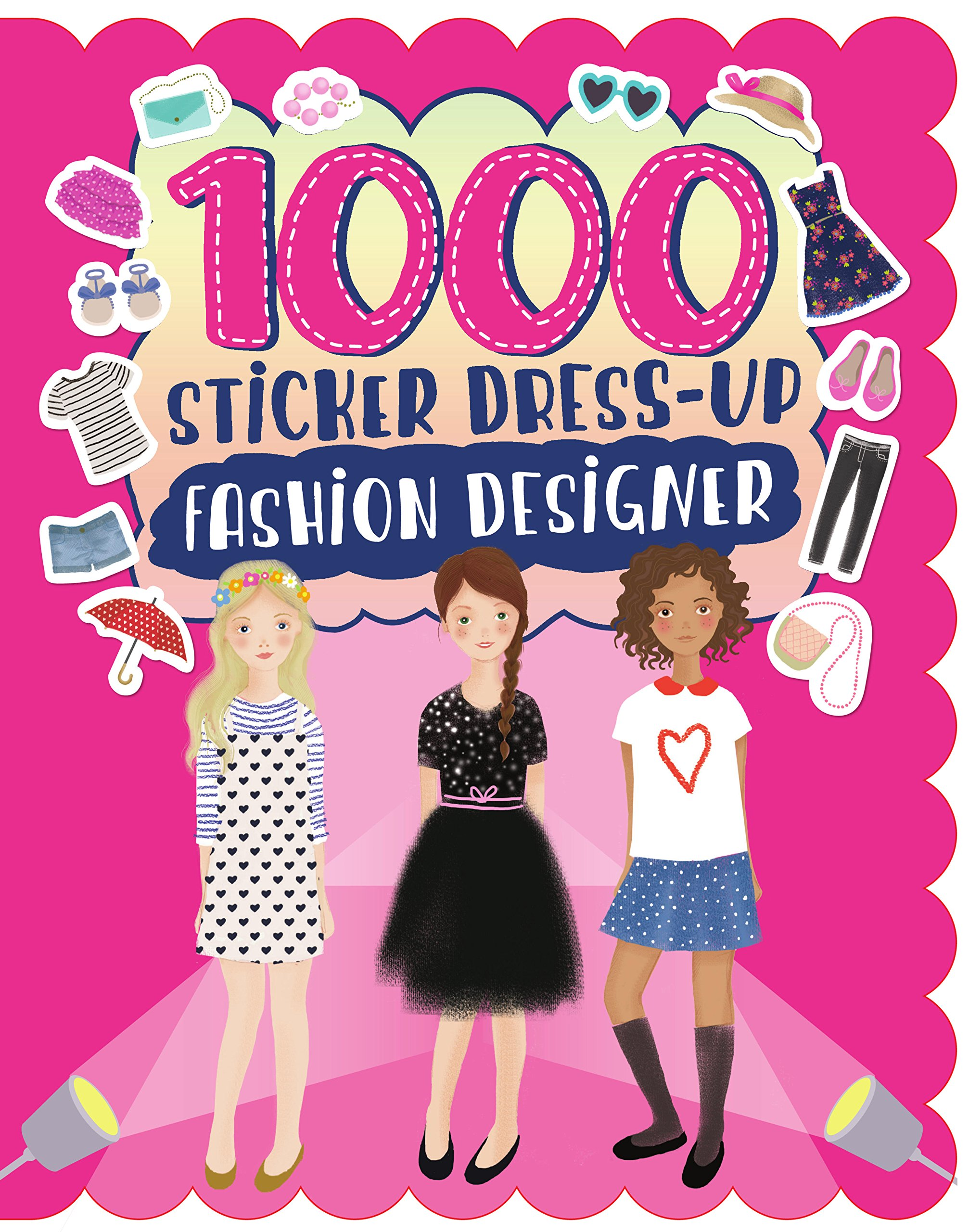1000 Sticker Dress Up Fashion Designer Parragon Books Ltd 9781474823227 Amazon Com Books