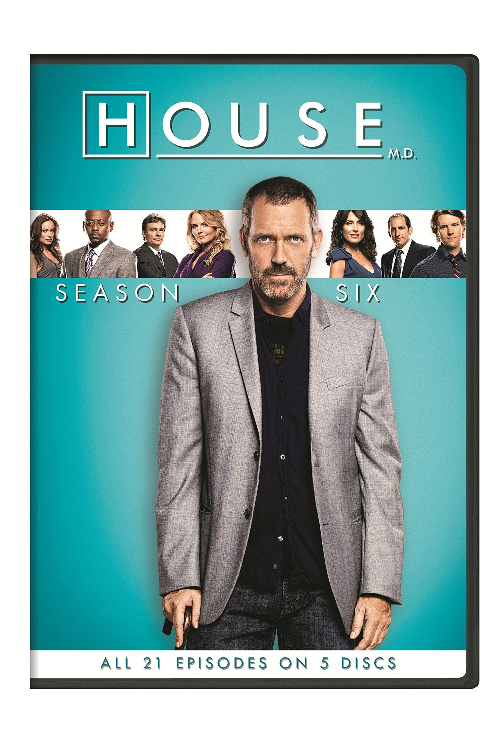 DVD : House: Season Six (Boxed Set, Snap Case, 5 Disc)