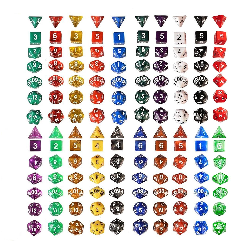 140 Einstein Polyhedral Dice IQ Toys