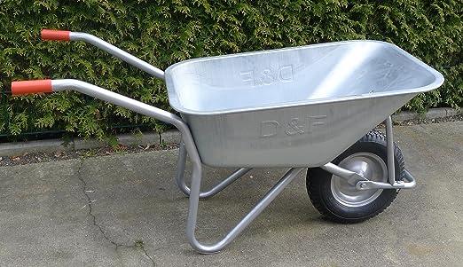 Etwas Neues genug Schubkarre 200Kg für Garten, Bau und Stall mit Stahlfelge #QQ_55