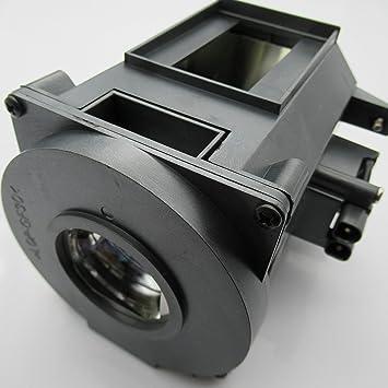 Supermait NP21LP Lámpara de repuesto para proyector con carcasa ...