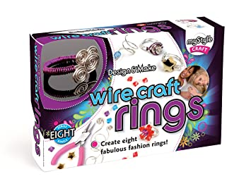 myStyle Wire Craft Rings: Amazon.co.uk: Toys & Games