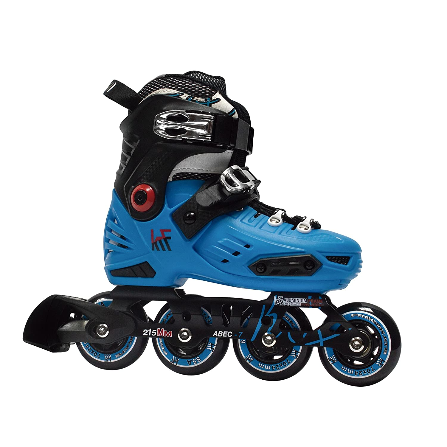 KRF The New Urban Concept Freeskate First Patines en Línea Freestyle Ajustables, Infantil