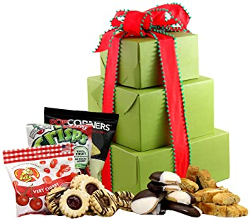 Amazon large gluten free palace holiday delight gluten free large gluten free palace holiday delight gluten free gift tower gourmet gift baskets negle Gallery