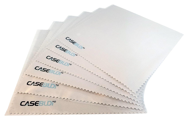 6 Pack CASEBUDi Microfiber Cleaning Cloths