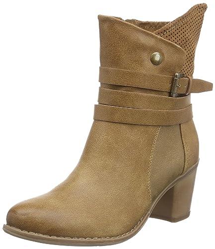 Heißer verkauf Bianco Damen Warme Stiefel Braun Leder