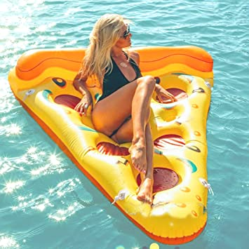Beach Toy ® - Colchoneta inflable piscina Pizza, Stock in Francia ...