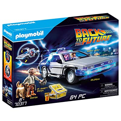 PLAYMOBIL Back to The Future Delorean: Toys & Games