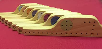Pegs And Jokers Solid Wood 8 Player Game
