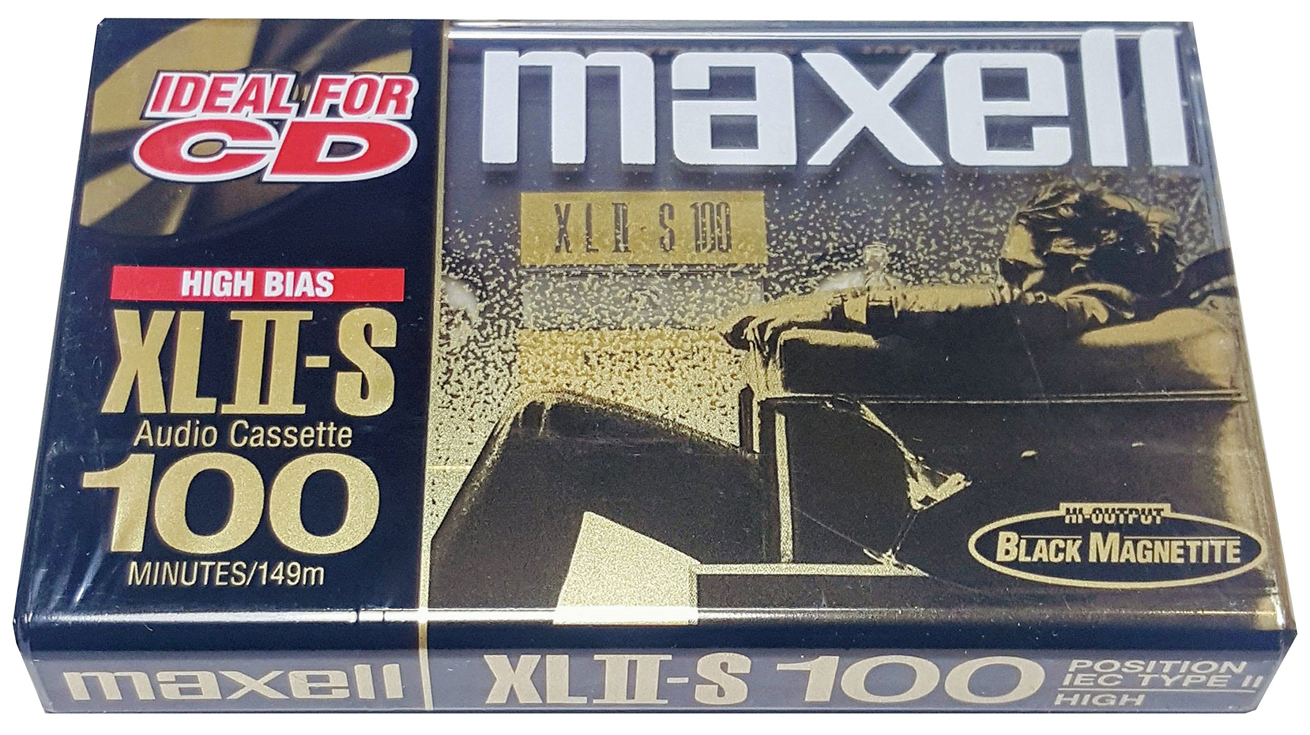 Maxell High Bias XLII-S 100 Minute Audio Cassette