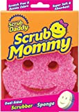 Scrub Daddy - Scrub Mommy - Two-Sided Soft Absorbent and Scratch-Free Scrubber and Sponge - 1 Count