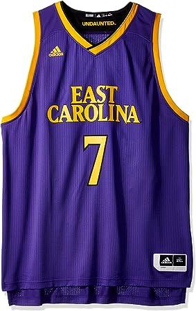 Adidas NCAA - Camiseta de baloncesto de réplica para hombre ...