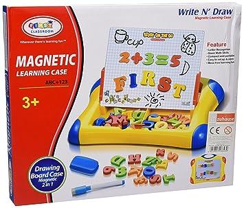Juguete Educativo 2 in 1 ABC Pizarra magnética Infantil ...
