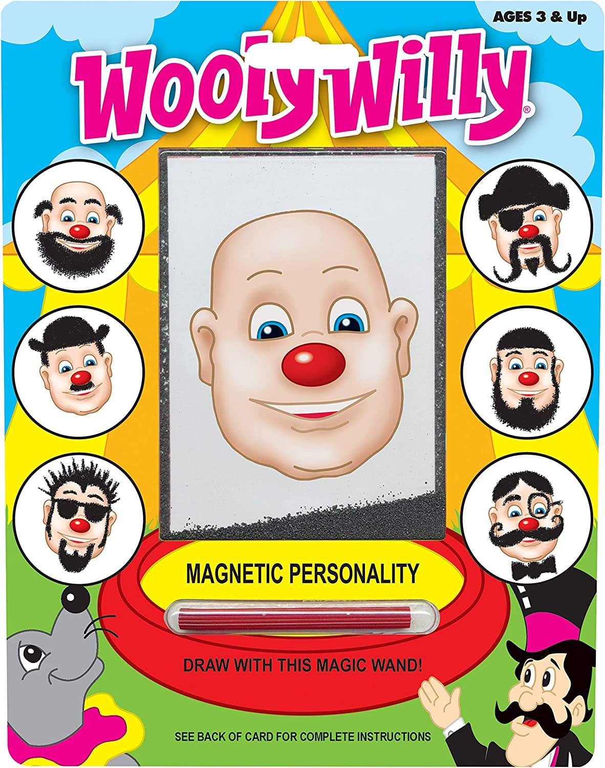 PlayMonster Magnetic Personalities - Wooly Willy: Toys & Games
