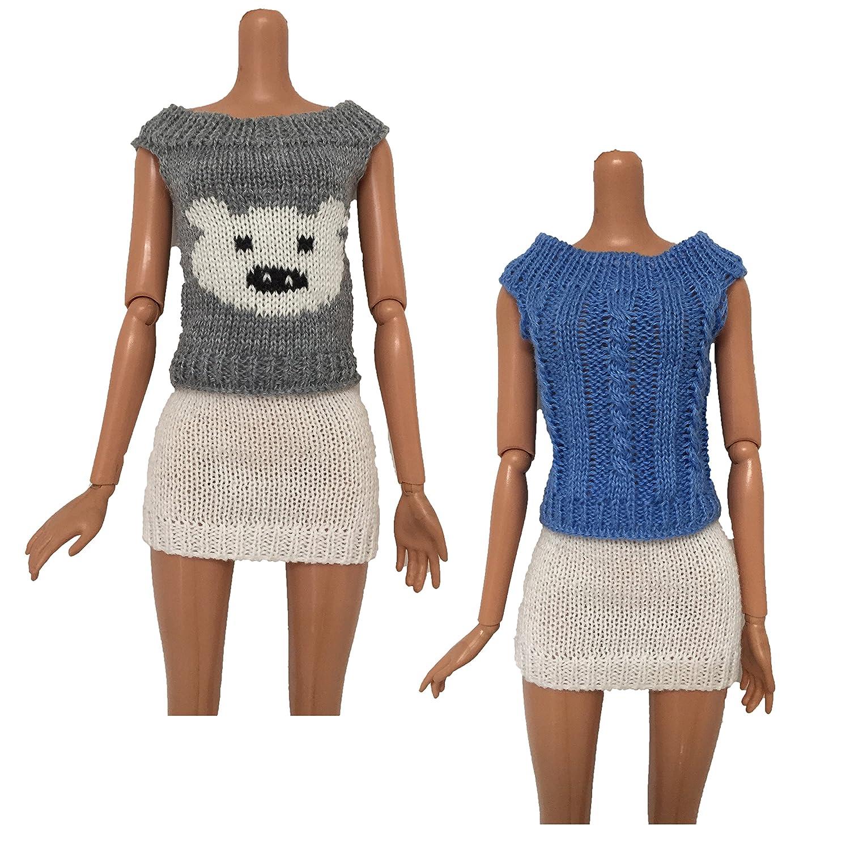 2879d9eceb Amazon.com  Yerong Doll Sweater