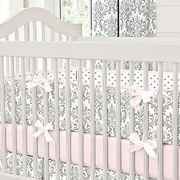 Amazon.com: Carrusel diseños rosa y gris Tradiciones Cuna ...