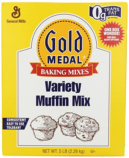 Amazon.com : Gold Medal Variety Muffin Mix, 5-Pound : Grocery & Gourmet Food
