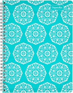 """Mead Organizher Monthly Planner, Undated, 7-1/2"""" x 9-1/2"""", Design Will Vary (47012)"""