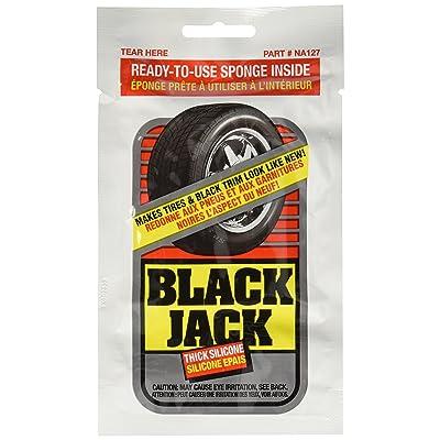 Blue Magic NA127-24PK Black Jack Tire Shine Towelette, (Pack of 24): Automotive