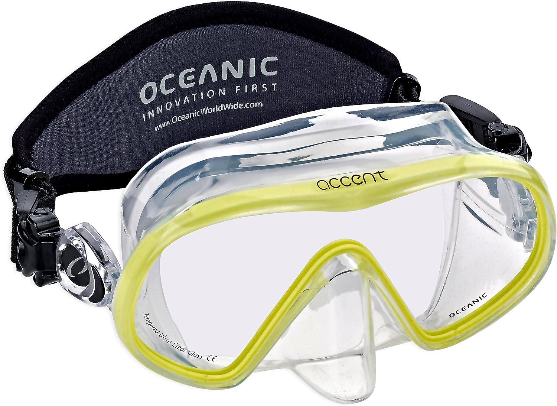 Oceanic Accent Scuba Snorkeling Dive Mask