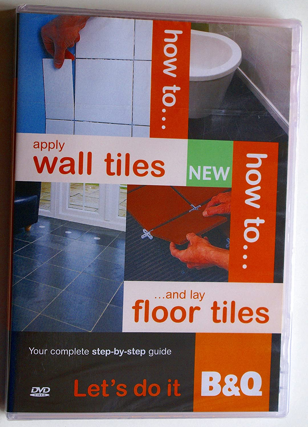 b q how to apply wall tiles and lay floor tiles instructional diy