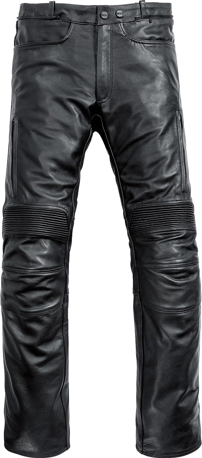 Mohawk Motorradhose Touren Lederhose 1 0 Schwarz 52 Herren Tourer Ganzjährig Bekleidung