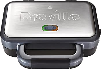 Breville Deep Fill Sandwich Maker with Removable Plates