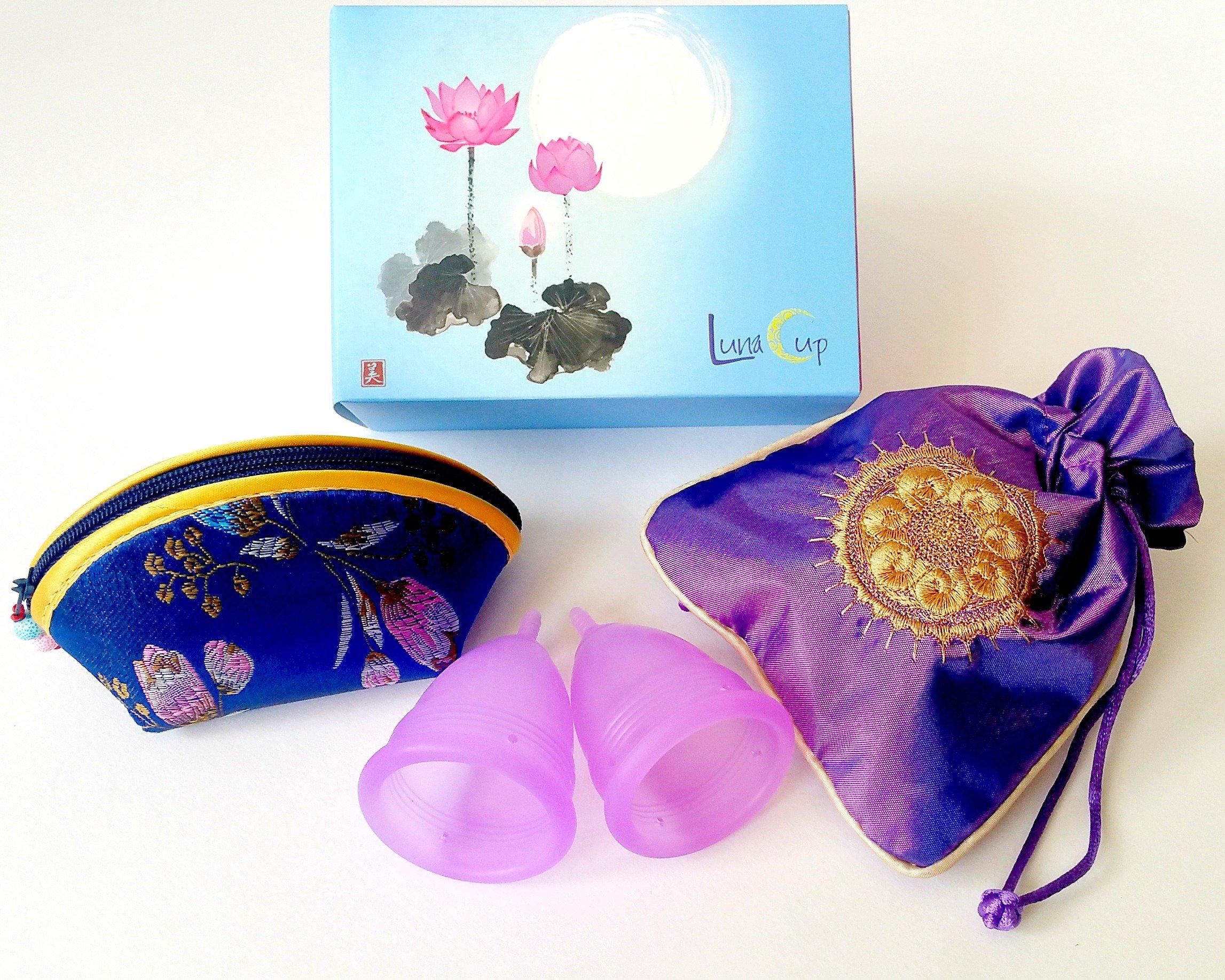 Luna Cup Menstruation Kit (2 L Cups)