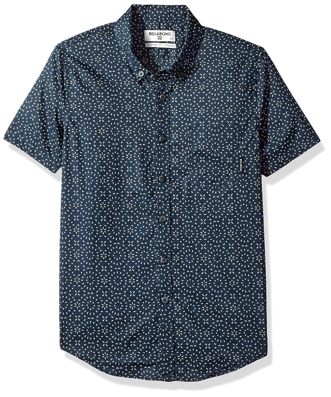 Billabong Boys Big Sundays Mini Short Sleeve Shirt