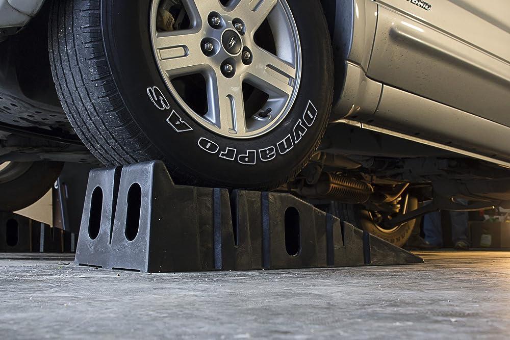 RhinoGear 11909ABMI RhinoRamps Vehicle Ramp - Pair (12,000lb. GVW Capacity)