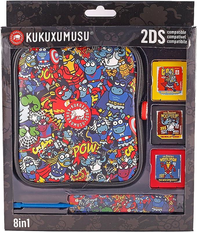 Indeca - Pack de 8 componentes E Kukuxumusu Con Funda (Nintendo ...