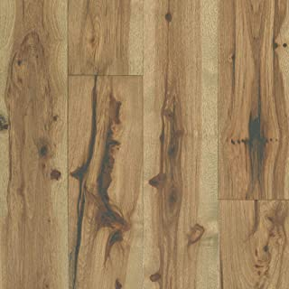 """product image for Shaw SW673-07036 Shaw SW673 Reflections Hickory 7"""" Wide Wire Brushed Engineered Hardwood Flooring with ScufResist Platinum/Water Repel Finish - Sold by Carton (23.58/SF Carton)"""