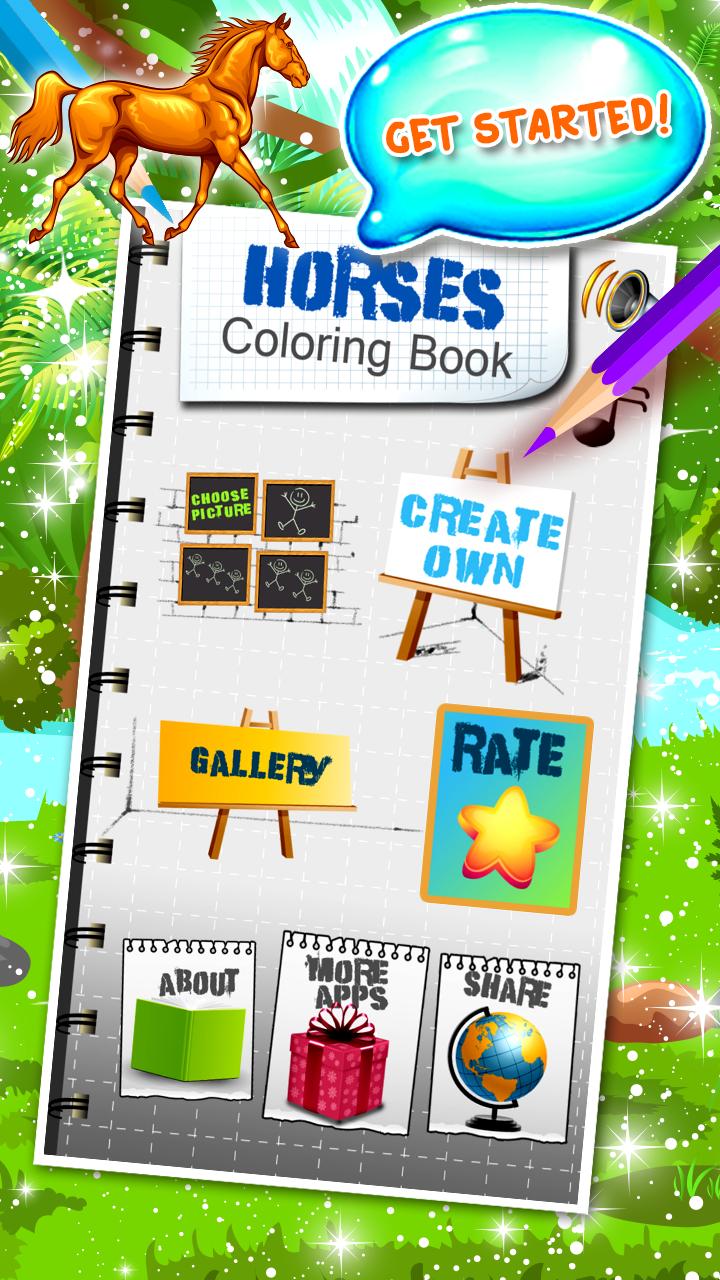 Libro para colorear caballos: Amazon.es: Appstore para Android