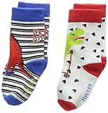 Joules Baby Boys' Neat Feet Socks, pack of 2