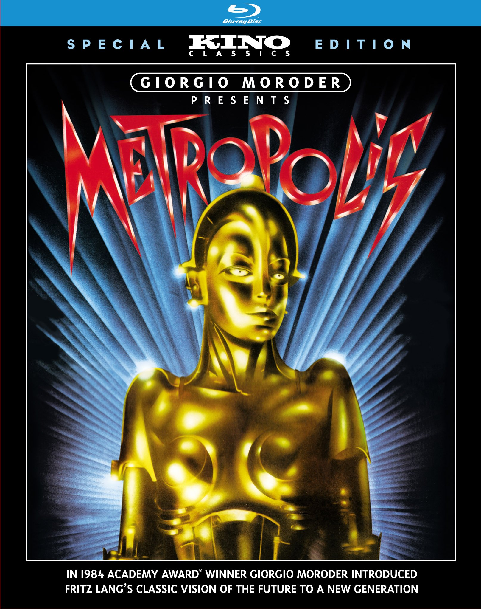 Blu-ray : Gustav Froehlich - Metropolis (Special Edition, AC-3)