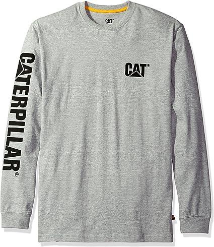 Caterpillar - Camiseta para Hombre, S, Gris: Amazon.es: Ropa y ...