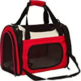 Pettom Pet Soft Sided Travel Carrier Airline Approved Comes with Removable Pet Mats Perfect for Small Dogs and Cats up to 10-16lbs
