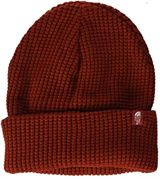 72b68c8e THE NORTH FACE Men's TNF Waffle Beanie, Caldera Red, One Size ...